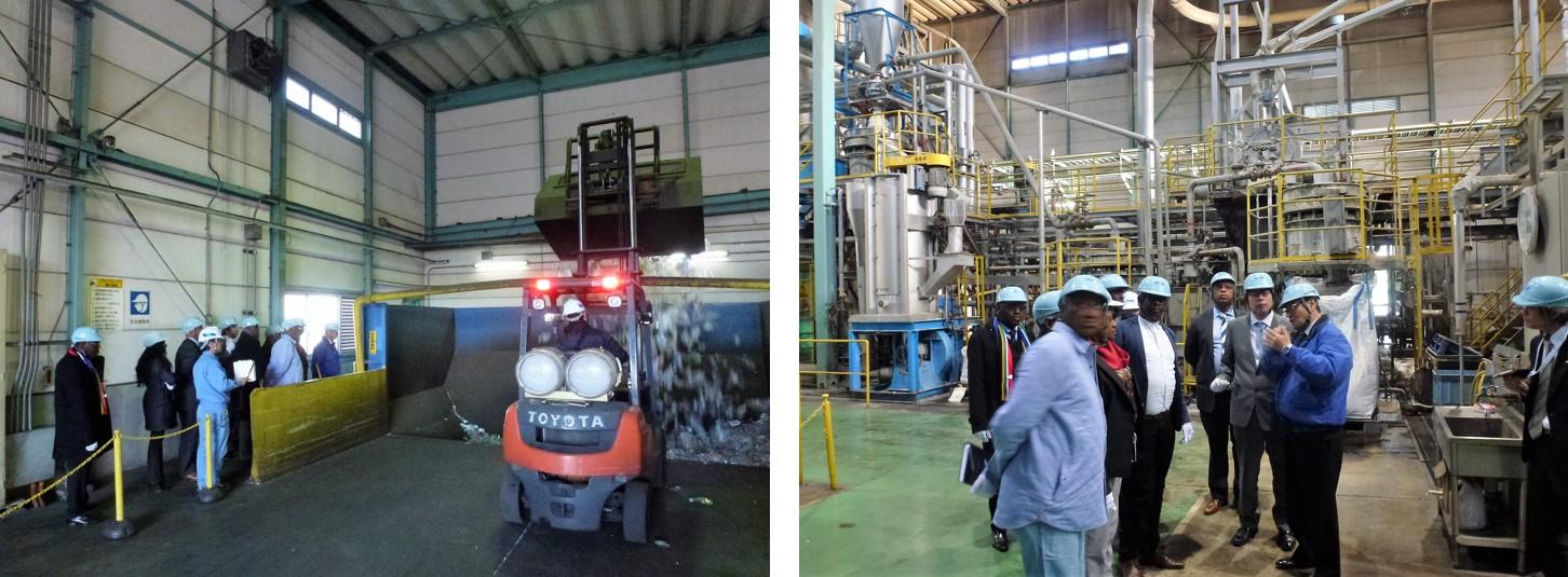 協栄産業 ジャパンテック 東京ペットボトルリサイクル PETボトル ペットボトル リサイクル 資源分別 南アフリカ共和国 ハウテン州 エクアレニ市